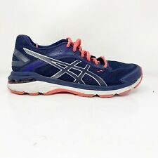 Asics Womens GT 2000 7 1012A147 Blue Running Shoes Lace Up Low Top Size 8.5