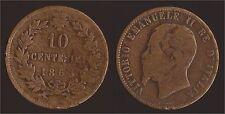 10 CENTESIMI 1863 PARIGI - VITTORIO EMANUELE II