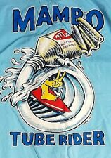 MAMBO XL SKY BLUE MUSCLE LOUD T-SHIRT TUBE RIDER MATTHEW MARTIN SURF CULTURE