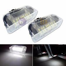 White Error Free LED Side Door courtesy Lights For VW Golf GTi EOS Jetta Passat