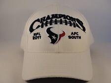 Houston Texans NFL 2011 AFC South Champions Reebok Snapback Hat Cap