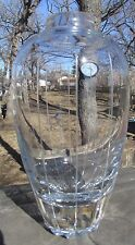 Gorgeous Crystal Vase Cut & Signed By Master Cutter Kurt Strobach
