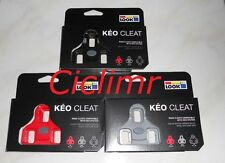 Look tacchette Keo originali nere, rosse, grigie
