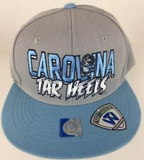the best attitude 8606f e1e13 North Carolina TAR HEELS Snapback Hat Grey Blue Top Of The World NWT New