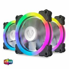 Vetroo 3 Pack 120mm ARGB Case Fan 5V 3 Pin Addressable Motherboard SYNC with
