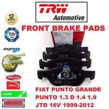 Para Fiat Punto Grande 1.3D 1.4 1.9 JTD 16v 1999-2012 Set Almohadillas Freno