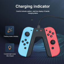 Joy-Con Charging Grip for Nintendo Switch Joy-Cons Controller V-Handle Charger h