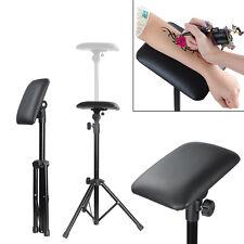 Height Adjustable Tattoo Tripod Stand Arm Leg Rest Studio Armrest Pad Portable