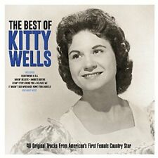 The Best of Kitty Wells NEW 2CD 40 ORIGINALS FROM AMERICAS QUEEN OF COUNTRY