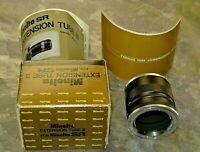 Minolta Extension Tube Set II for SR Camera with New In Original Box With Manual