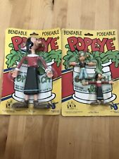 Popeye And Olive Oyl Figures, Collectable 1993