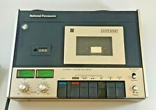VINTAGE NATIONAL PANASONIC RS-260USD STEREO CASSETTE DECK -WORKING-(CFM#274)