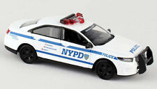 NEW York Police Department 1:43 NYPD modello di auto NYC FORD Interceptor Sedan 12cm