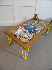 Dining Room Vintage/Retro Teak Less than 60cm Coffee Tables