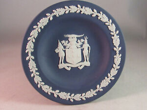 """Wedgwood Jasperware """"Out of Many, One People"""" Jamaica, Pin Dish Tray"""