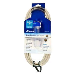 Aqueon Siphon Vacuum Gravel Cleaner Medium 5in   Free Shipping