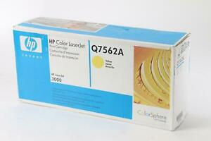 New HP Q7562A Yellow Toner Cartridge for HP Color LaserJet 3000 / 829160697383