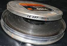 FILM  16 MM  BOBINE TEST POUR PROJECTEUR  16 OPT 1000HZ