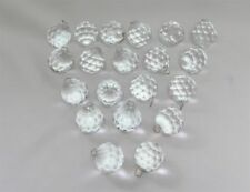 20 X diamond lucite acrylic faceted chandelier crystal hanging decor wedding