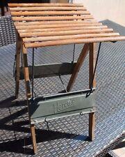 matériel de pêche hercule ancien siège pliant pour la pêche