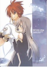Tales of the Abyss Doujinshi Dojinshi Fan Comic Kero Mix Luke x Tear fall into s