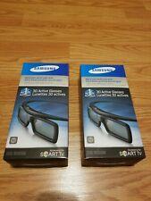(2) Samsung SSG-3050GB 3D Active Glasses