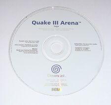 QUAKE III ARENA / QUAKE 3 ARENA for Sega Dreamcast PAL Version New