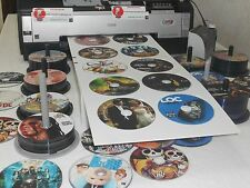 EPSON STYLUS PHOTO 1400 PRINTER, PRINTS ON 10 CDS DVDS BLUE RAYS