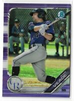 2019 Bowman chrome prospects Purple refractor Parallel Ryan Vilade 242/250