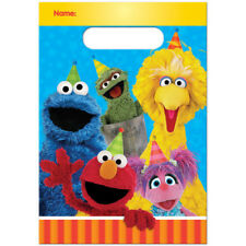 Sesame Street Elmo Favors Bags (8) Birthday Party Supplies Treat Loot Goody
