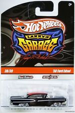 Hot Wheels '58 Ford Edsel Larry's Garage #T0411 New in Pack 2009 Black 8+ 1:64
