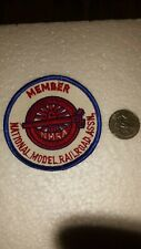 MEMBER OF THE NATIONAL MODEL RAILROAD ASSN.PATCH