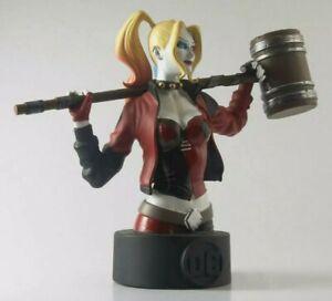"""Eaglemoss  DC Batman Universe #3: Harley Quinn Collector's Bust 5"""" new"""