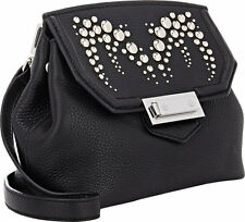 NWOT $795+ Alexander Wang MARION Prisma Studded Black Leather Crossbody Bag