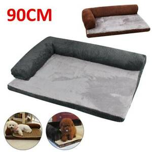 Dog Cat Kitten Puppy Lounge Sofa Basket Corduroy Mattress Memory-Foam Pet Bed