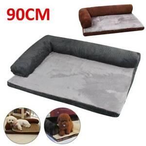 Dog Cat Kitten Puppy Lounge Sofa Basket Corduroy Mattress Memory-Foam Pet Bed
