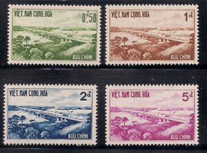 Vietnam - S.   1961   Sc # 166-69   VLH   OG   (1-039)