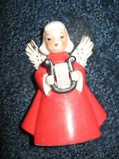 "Christmas Angel-Porcelain-1950's-60's-4 1/4"" tall"