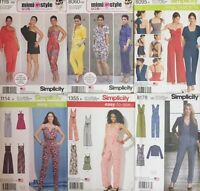 Simplicity Sewing Patterns Women Trouser Suit