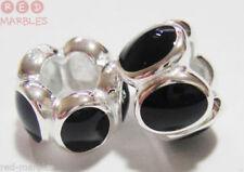 Charms y pulseras de charms de bisutería color principal negro