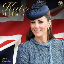 KATE MIDDLETON 2014 WALL CALENDAR - BNISW THE DAY U PAY IT SHIPS FREE