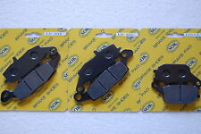 FRONT REAR BRAKE PADS fits SUZUKI DL 650 1000 V-Strom 04-13 DL650, 02-09 DL1000
