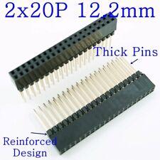 50 pcs Female Pin Headers 12.2mm 23mm 6P 2x20P Dual Row Connector for Arduino