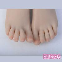 Feet Shoes Displays Model Legs Mannequin One Left Or Right Lifelike Female vein