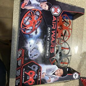 New Air Wars Battle Drones One-Touch Air Attacks Easy to Fly RC  NIB