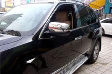 ABS Side Door Mirror Cover Chrome Trim 2pcs  For BMW X5 E70 2008 - 2013