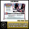2018 BOWMAN DRAFT JUMBO BASEBALL 8 BOX (FULL CASE) BREAK #A086 - PICK YOUR TEAM