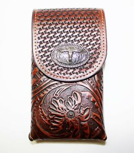 EXTRA LARGE WESTERN POUCH BELT LOOP HOLSTER CELL PHONE CASE UNIVERSAL OVERSIZE