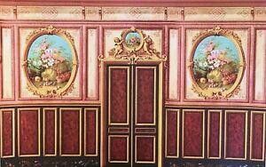 Dollhouse Miniature Art Panel Wallpaper #6043B