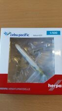Herpa 529327 - 1/500 Airbus a320-Cebu Pacific Air-New 2016 colors-NUOVO